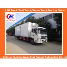Heavy Duty Dongfeng 4 * 2 Camião Frigorífico 10cbm