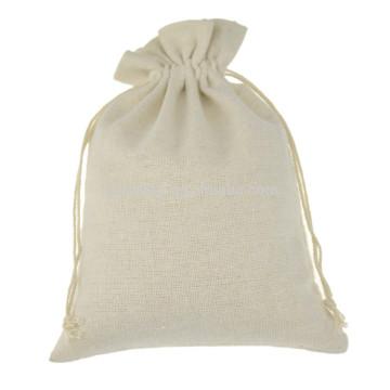 Wholesale 100% umweltfreundliche Leinwand Baumwolle Musselin Tasche