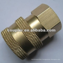 "1/4""NPT High Pressure Washer Hydraulic Brass quick couplings"