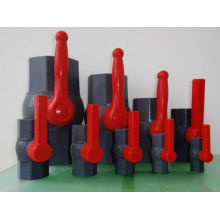 Octagonal PVC Ball Valve with ABS Handle