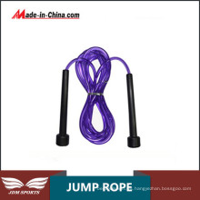 Ejercicio aeróbico profesional Jump Trucos de cuerdas de cuero