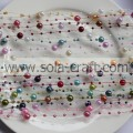 3+8MM Mix Color Acrylic Pearl Beaded Garland Chain for Home decoration