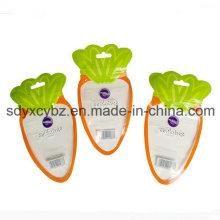 con la bolsa de empaquetado de plástico con forma especial aprobada por SGS de grado alimenticio