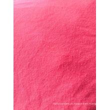 92% Poliéster 8% Elastano Pele de pêssego Tecido sólido