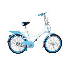 Acier crantée cadre 28 pouces vélo de ville