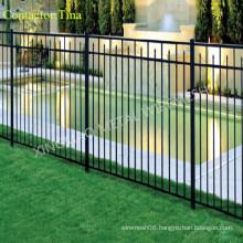 2400X1800mm High Security Ornamental Steel Fencing/Ornamental Metal Fence (XM-007)
