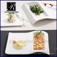 Restaurant Porzellanteller Gerichte