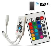 El wifi casero mágico de alta calidad del wifi RGB RGBW de la tira llevó el regulador ligero llevado para la venta