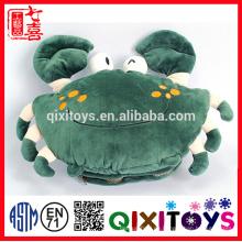 Bestes Geschenk für kalte Winterkrabbe geformt hübsch gefüllt und Plüsch Spielzeug Handwärmer