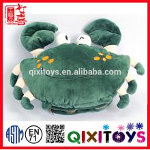 Лучший подарок для холодной зимы Краб shaped симпатичные плюшевые игрушки грелки руки