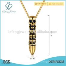 Antique apenas você colar pingente, 14k pingente de ouro, jóias pingente moderno