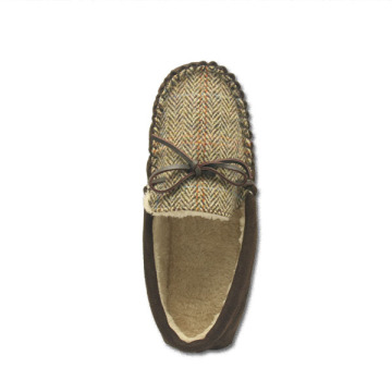 Mens Faux Suede Casual Loafers soft indoor slippers
