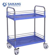 SKR004 больницы дешевые ABS медицинская экономической Вагонетка обработки