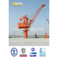 Port Used Marine Deck Crane Jib Crane Ship Crane