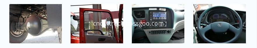 dongfeng 4x2 cargo truck details 2