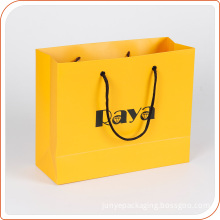 Recyclable Cardboard Printed Custom Shopping Paper Bag with Logo