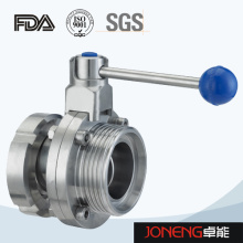 Stainless Steel Sanitary Manual Threaded Butterfly Valve (JN-BV1010)