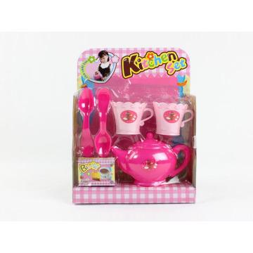 Kunststoff Emulation Mini Küche Kochen Tee Set Spielzeug (10223658)