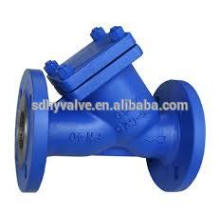 Ductile iron/cast iron y strainer prices with PN10, PN16