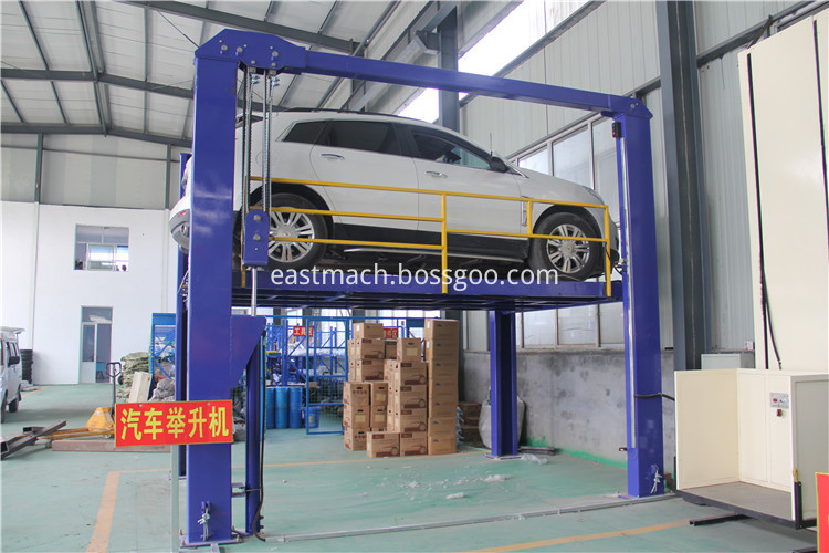 Two Post Hydraulic Automobile Lift With Ce