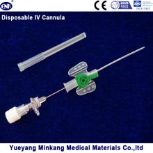 Blister verpackt Medizinische Einweg IV Kanüle / IV Katheter Schmetterling Typ 18g