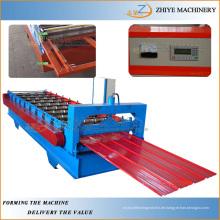 Farbe Stahl Eisen Wand Panel Making Machine / Wellblech Dachblech Kaltumformung Produktionsmaschine