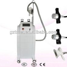 Máquina de crioterapia de criolipolisis vertical con cavitación y rf