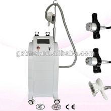 Máquina de crioterapia de criolipólise vertical com cavitação e rf
