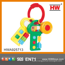Hot Selling Musical Baby Plastic Keys Toy