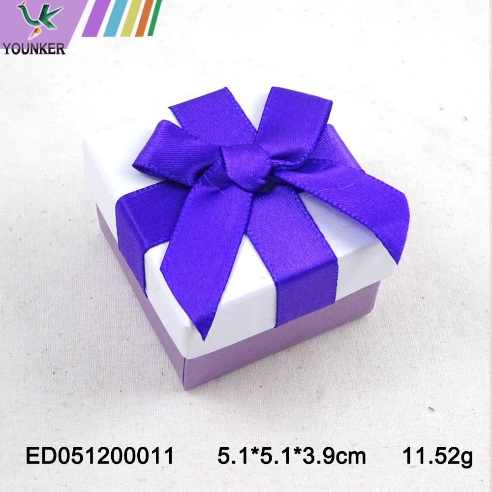 Elegant Ribbon Ring Boxes 010