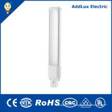 Lumière de prise de la CE UL 6W 8W SMD LED de la lumière du jour 2pin