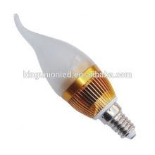 Aluminio o vidrio LED vela luz RGB controlador Epistar Cree Chips