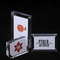 Customized clear acrylic photo frame