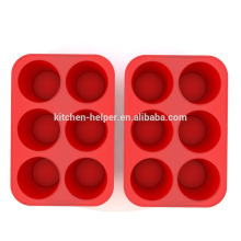 Fabricant professionnel High Quality Factory Price Matière antiadhésive à base de muffins Silicone Muffin