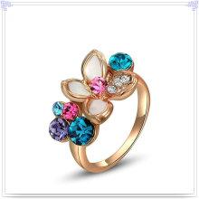Jóia de cristal jóia de cristal anel de liga (al0014rg)