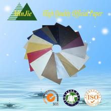 Gute Qualität 100% Holz Pulp 210 * 297 Verschiedene Farbe Kopierpapier