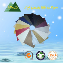 Good Quality 100% Wood Pulp 210*297 Various Color Copy Paper