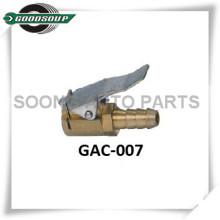 Air Chuck, Tire Chuck, chrome body with clip, Repair tool