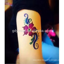 Customized Cartoon Washable Body Glitter PowderTattoo Sticker