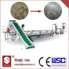 PP PE washing recycling machine line