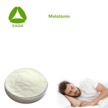 Poudre de 99% de mélatonine de matériaux cosmétiques de soins de santé