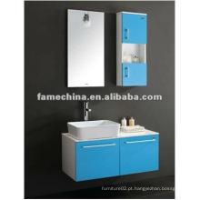 Armário de banheiro moderno de PVC / vaidade / mobiliário
