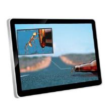 55 Zoll an der Wand befestigter HD LCD Monitor