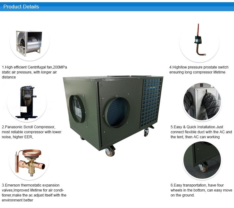 Air Conditioner for Pre-flight