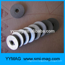Sinter Alnico magnet ring industrial magnet for odometer/speedmeter