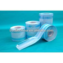 rollo de papel de embalaje de plástico para médicos