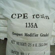 China powerful manufacturer chlorinated polyethylene for pvc resin (CPE)