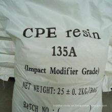 Grado de la industria química con cloro polietileno químicos cpe 135 en venta