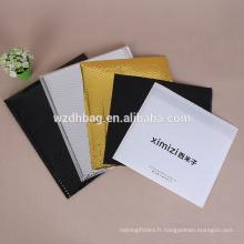 Taille personnalisée nacrée de sac à bulles de sac à bulles d'air pour le courrier et l'emballage de tissu