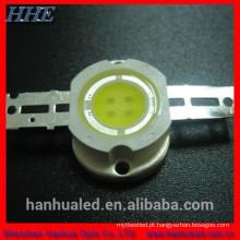 5w bridgelux 2500-3500k diodo led branco com ce rohs
